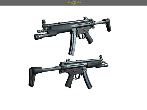 H&K MP5 SMGs (Left 4 Dead 2 > Skins > SMGs > Submachine