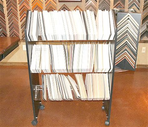 Used Mat Board Sample Holder, Used Picture Framing