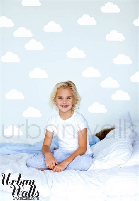 Ideas for Archer   Cloud wall decal, Wall decal pattern