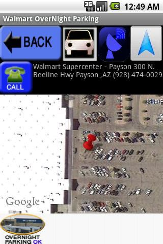 WalMart OverNight Parking - Android Apps on Google Play
