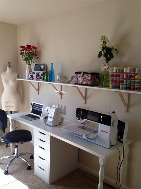 Ikea Sewing Craft Table - WoodWorking Projects & Plans