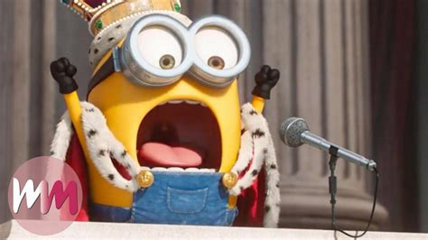 Top 10 Funniest Minions Moments   WatchMojo