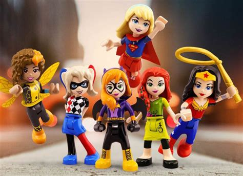 LEGO's New Line of Female Superheroes Is the Toy We