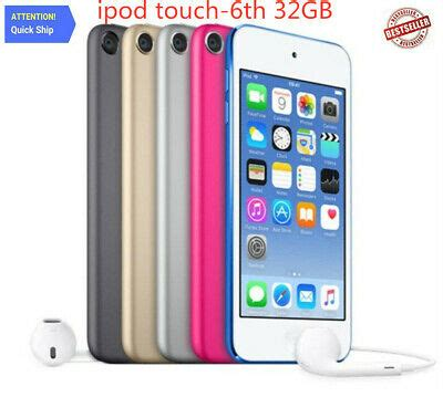 🔥NEW Apple iPod Touch 6th Generation 32GB (all colors
