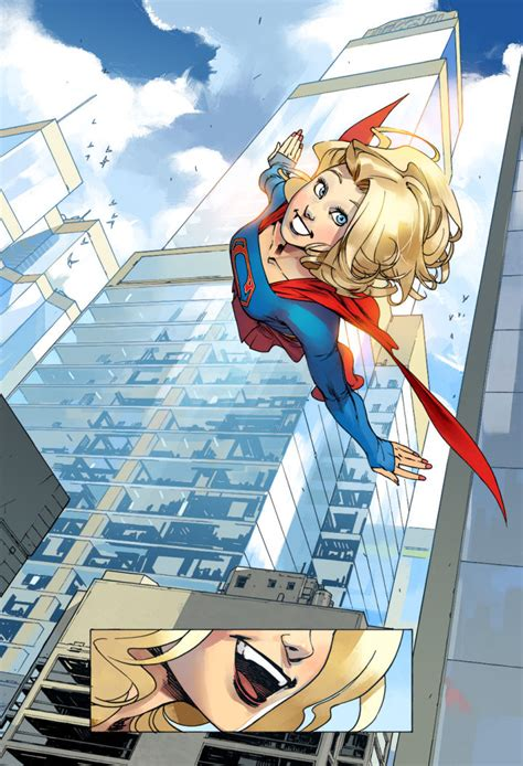 DC Swoops in with Adventures of Supergirl Digital Comic - IGN