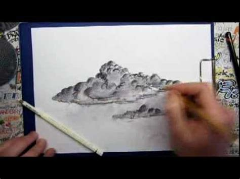 How to draw BAD WEATHER CLOUDS - YouTube