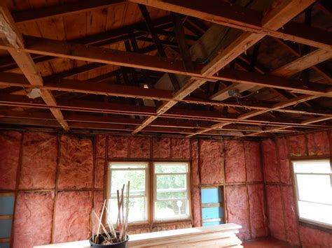 Increase size of ceiling joist compromise roof strength