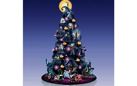 The Nightmare Before Christmas Tabletop Tree Collection