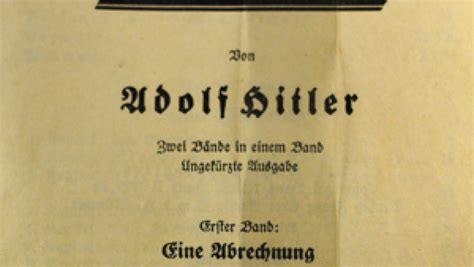 'Mein Kampf' to Be Published Again in Germany | The World