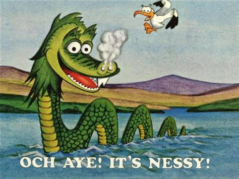 Conspiracy Corner - 5th sighting of the Loch Ness Monster