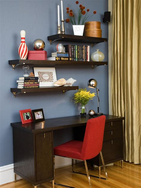 Staggered Shelves Design Ideas & Remodel Pictures | Houzz