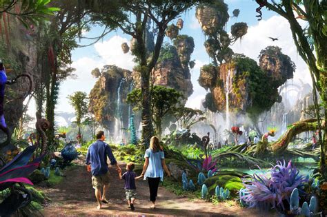 'Avatar Land' Park Inspired by Pandora Coming to Disney's