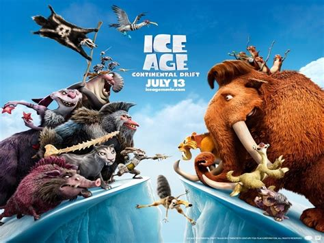 Ice Age 4 - Continental Drift Movie Review