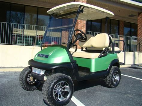 King of Carts: Custom Green Lifted Golf Cart For Sale In