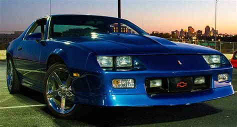 Blue 1986 Chevrolet Camaro Z28 low miles on engine For