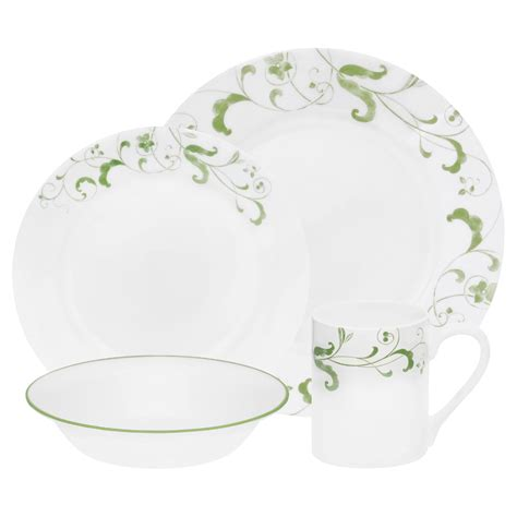 Corelle Impressions 16pc Set Spring Faenza - Home - Dining
