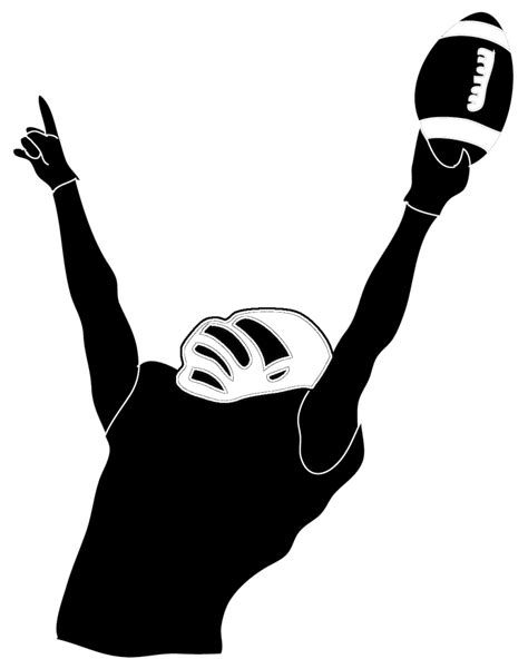 Football Player Clipart - Clipartion