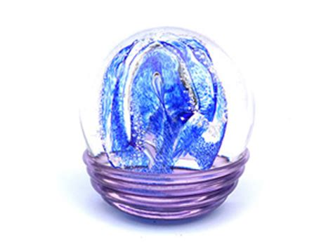 Cremation Glass Keepsakes | Cremation Globes | Globes With