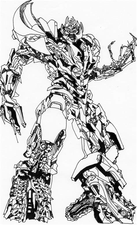 Megatron Drawing | This was done as a joke for a mate more