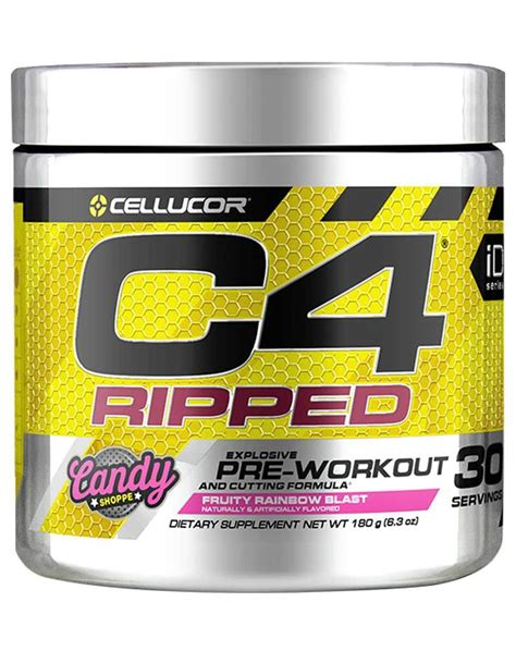 C4 Ripped Pre Workout by Cellucor – Supplement Warehouse
