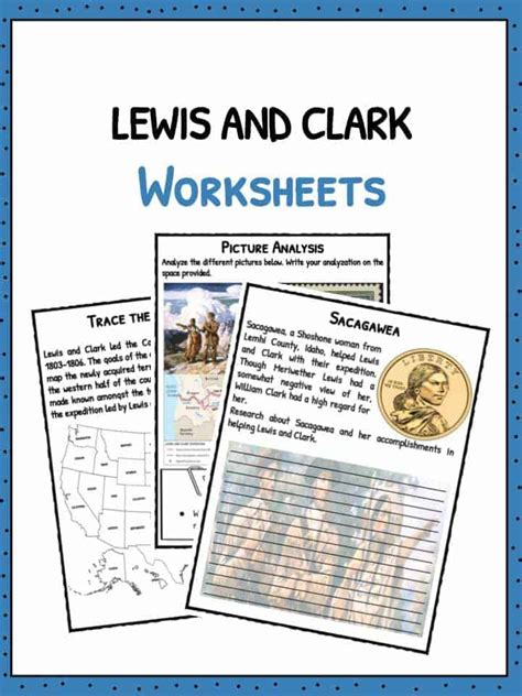 Lewis and Clark American Expedition Facts & Worksheets For