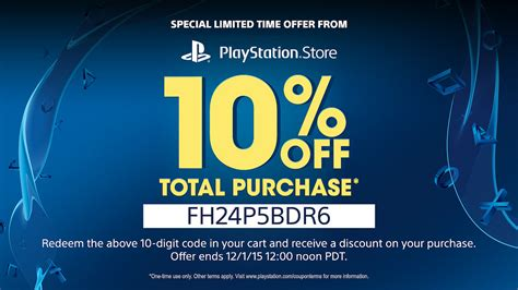 PSN Black Friday Flash Sale Live, 10% Off Discount Coupon