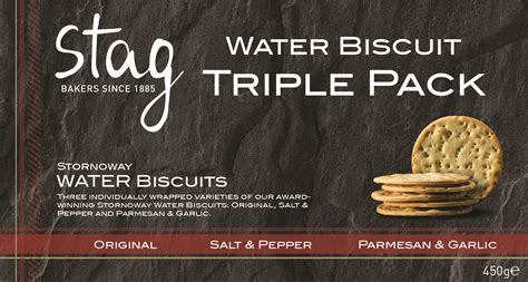 Stag – Water Biscuits Triple pack