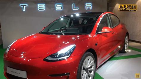 Check Out Refreshed Tesla Model 3 In Close Detail