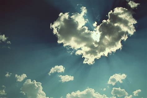 Heart Shaped Cloud | I have to give a shout out to my