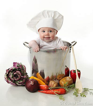 Baby In A Cooking Pot Stock Photos - Image: 17727343