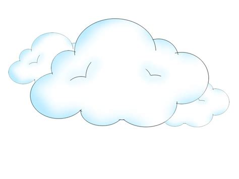 Draw Clouds | How to draw, To draw and Draw