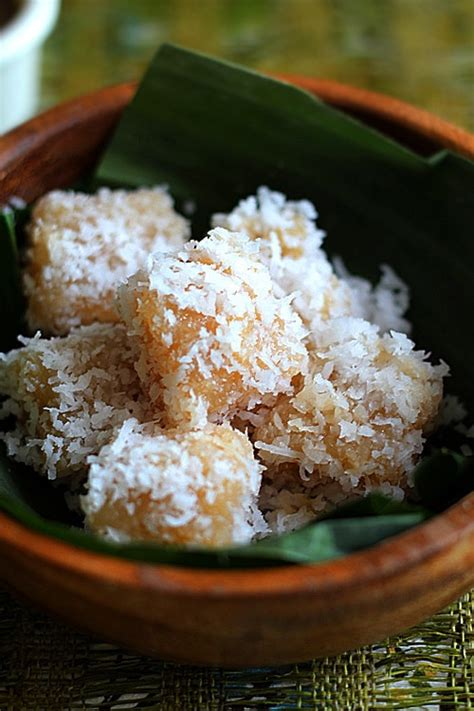 Cassava Cake with Shredded Coconut | Easy Delicious Recipes