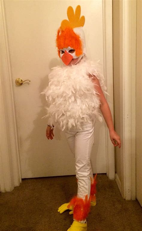 Make a Chicken Costume | Chicken costumes, Costumes and