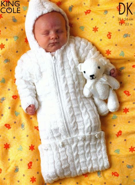 3 Designs Knit Baby Sleeping Bag Toddler Sweater and
