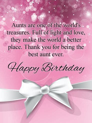 Happy Birthday Wishes For Aunt   Birthday greetings for