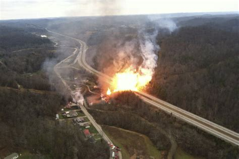West Virginia gas pipeline explosion – just a drop in the