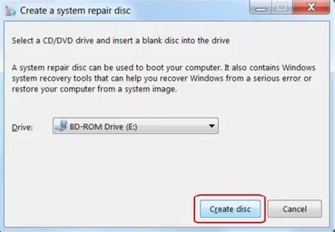 Top 3 Easy Ways to Create A Windows 7 Recovery Disk