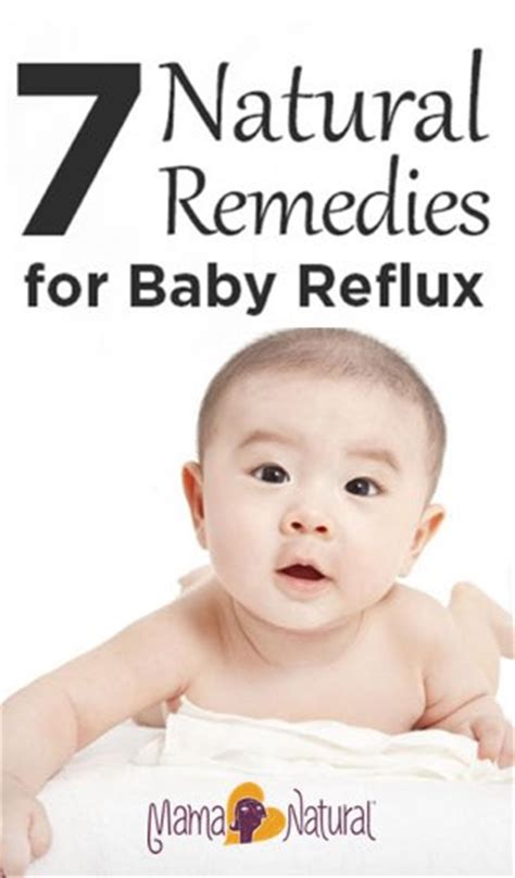 Natural Remedies for Baby Reflux