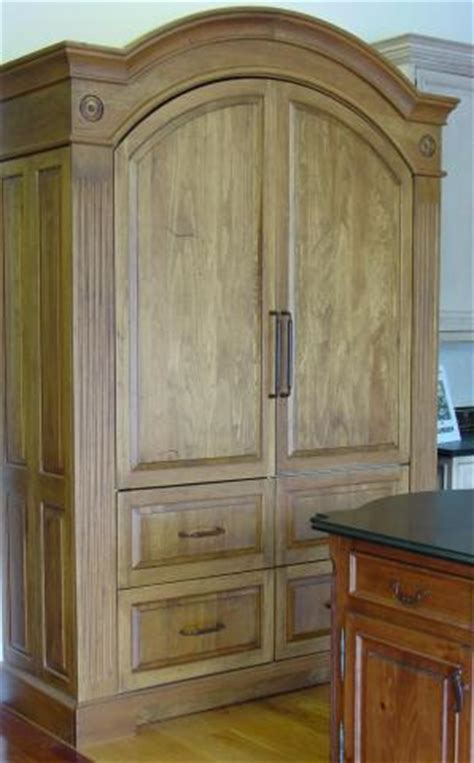 Armoire Refrigerator Pantry Workstations | YesterTec