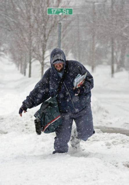 Postal Service asks customers to clear walkways and areas