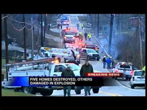 WV Gas Pipeline Explosion 5pm Coverage - YouTube
