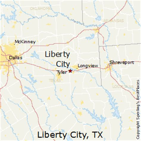 Best Places to Live in Liberty City, Texas
