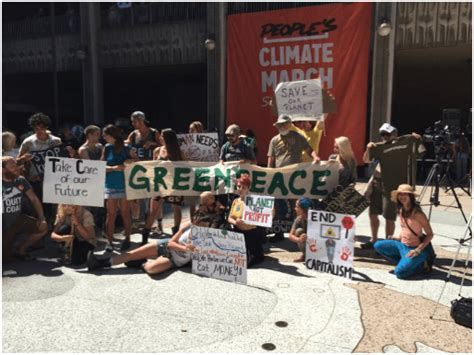 A Photo Essay of Sunday's San Diego People's Climate March