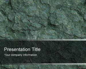 Stone Wall PawerPoint Template